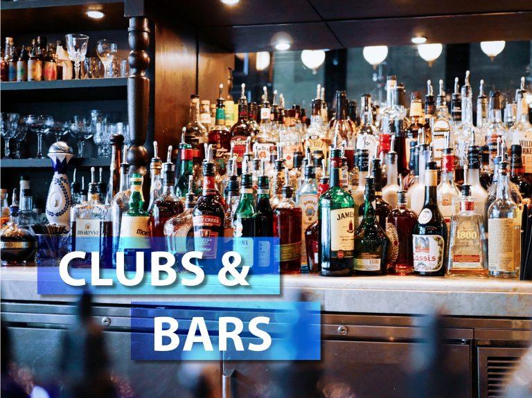 CLUBS + BARS